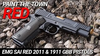 Paint the Town RED - EMG SAI RED 1911 & 2011 Teaser - Available Now at Evike.com