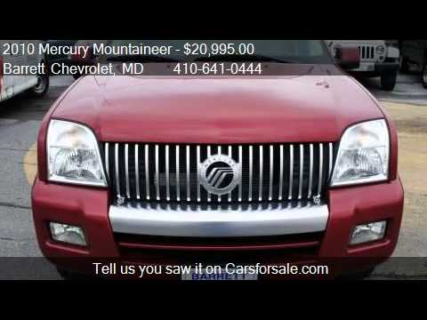 2010 mercury mountaineer for sale in berlin md 21811 youtube. Black Bedroom Furniture Sets. Home Design Ideas