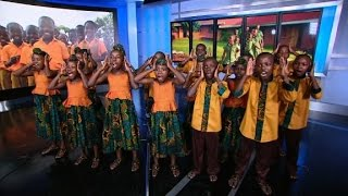 Video African Children's Choir from Uganda performs at CNN download MP3, 3GP, MP4, WEBM, AVI, FLV April 2018