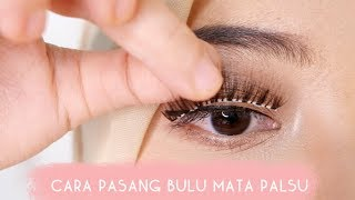 Cara Pasang Bulu Mata Palsu | How to Apply False Lashes | #makeupbyNia #4