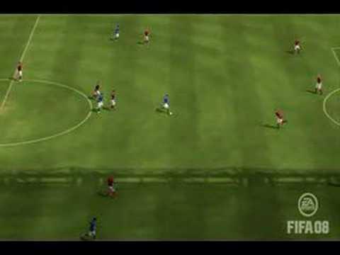 Fifa 09 Top 10 Goals, foci, gl - Videa