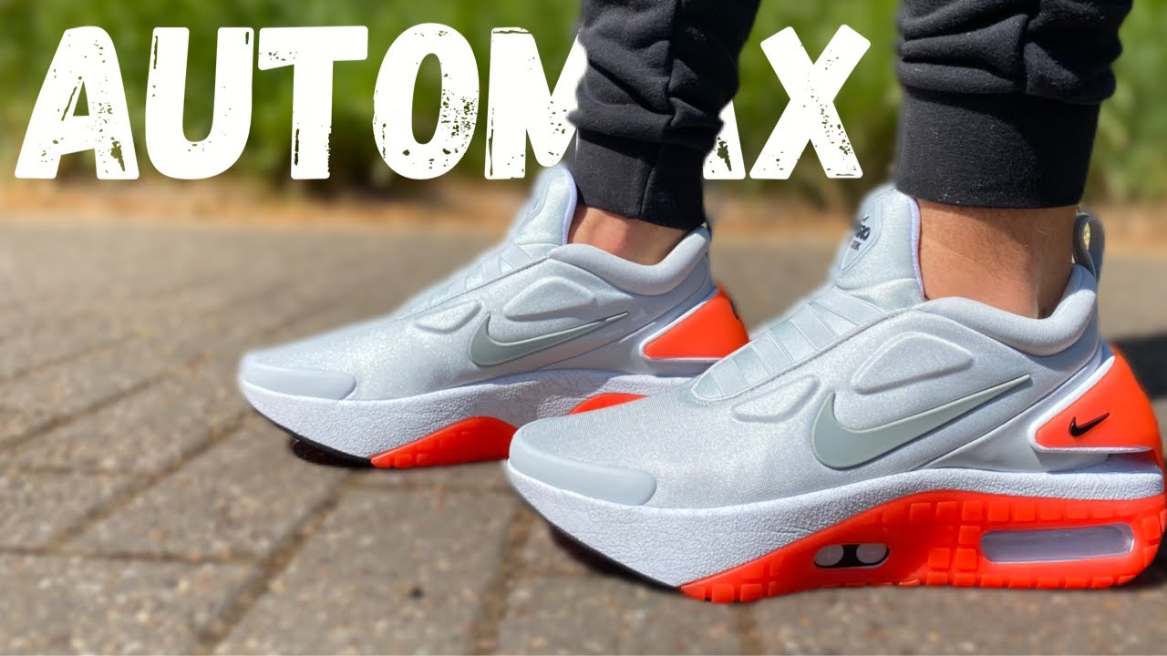Nike Adapt Auto Max Jetstream Ikat Tali Sepatu Pakai Ponsel Mau Halaman All Kompas Com