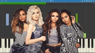 Little Mix - F.U. - Piano Tutorial - How to play F.U. by Little Mix