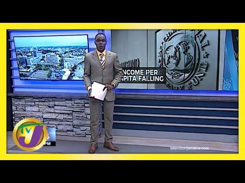 Jamaica's GDP Per Capita Falling   TVJ Business Day