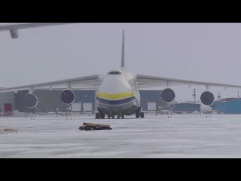 Antonov visits Iqaluit