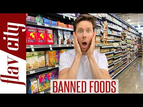 You're Eating Foods Banned In Other Countries!