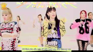[Kara+Vietsub][MV] Gotta Be You - 2NE1 (Dance Ver.)