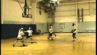 Basketball Drill - 3 on 2 / 2 on 1 Drill