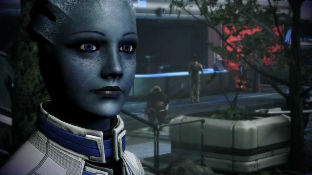 Liara Romance Reunion Mass Effect 3(Spoilers if you plan