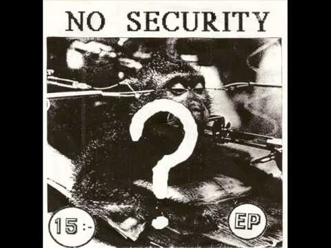 No Security - 40-Talisterna (EP 1987)