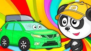 Мультики  Панда Биби Делает Чудо Ремонт Машины – Развивающие Мультики Про Машинки Для Детей #2