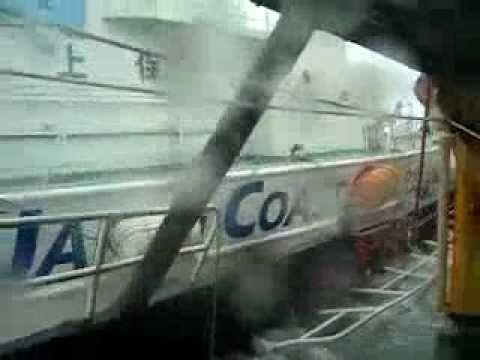 海上保安庁巡視船VS領海侵犯する中国船