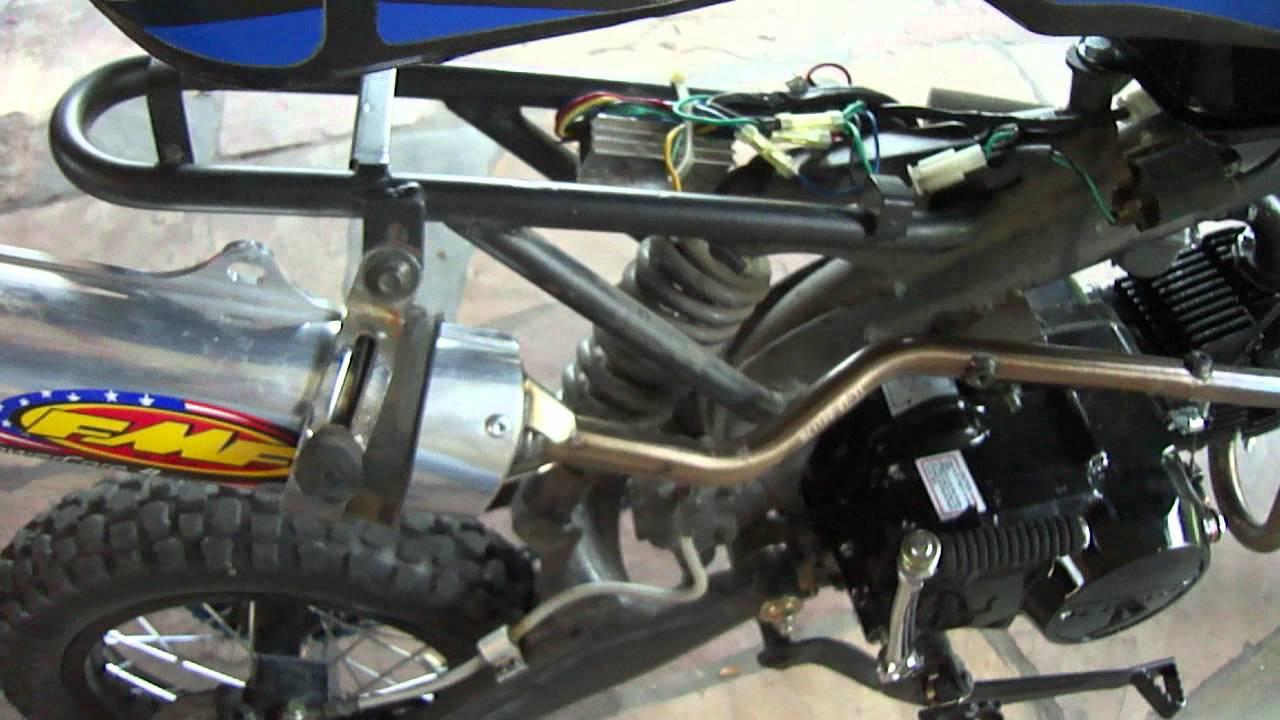 Apollo Pit Bike Complete Rebuild Part 2