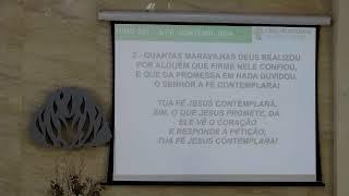 IPMN - CULTO MATUTINO  TEMA: COMO JESUS AMADURECE A NOSSA FÉ.  REV. FÁBIO BEZERRA