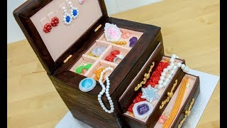JEWELRY Box CAKE with Edible Gems by Cakes StepbyStep
