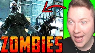 REACTING to OLD ZOMBIES TRAILERS! (2008! World at War!)