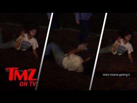 Malia Obama Rocks Out At Lollapalooza | TMZ TV
