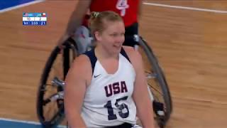 Day 1 Women's Wheelchair Basketball USA vs Chile | Parapan American Games Lima 2019