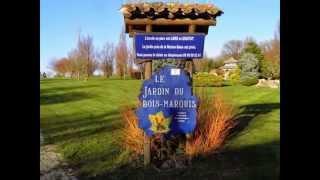 le jardin du bois marquis à Vernioz