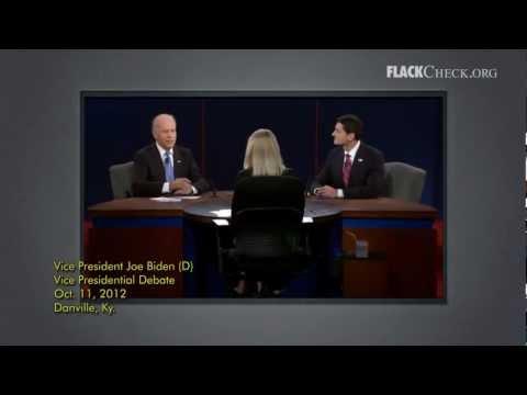 Debate Check: Biden on 'Let Detroit Go Bankrupt'