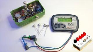 Measuring Germanium Transistors with the DCA75