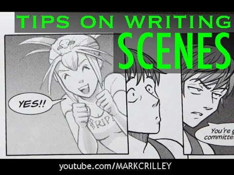 Tips on Writing Comic Book Scenes, Start to Finish