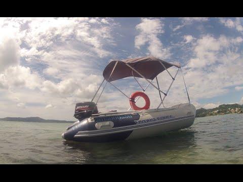 Boat Hydro-Force Mirovia Bestway With Bonnet - FLORIANÓPOLIS