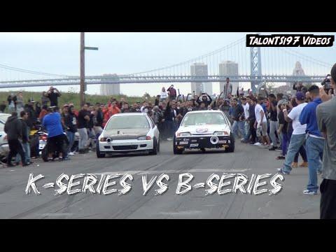 K-Series Vs. B-Series Street Showdown