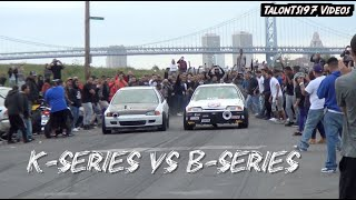 K-Series Vs. B-Series Street Showdown