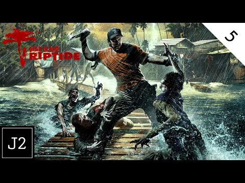 Dead Island Riptide Campaign Gameplay - Let's Do The Electric Slide - Part 5