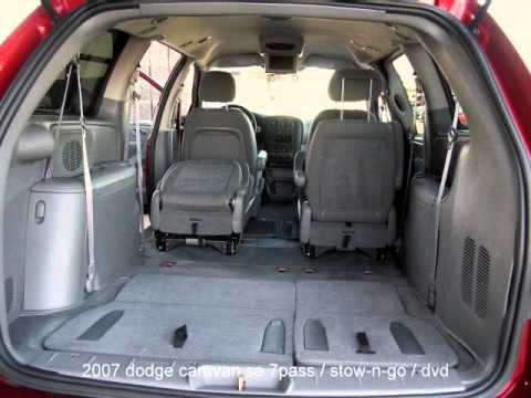 2007 dodge caravan se stow n go dvd youtube. Black Bedroom Furniture Sets. Home Design Ideas