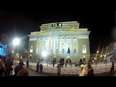 St Petersburg Nevskiy Prospekt Market 30 12 2012