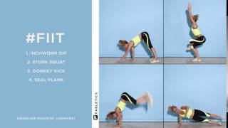 FIIT | 4 Playful Moves to Tone Your Bod