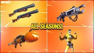 *ALL* Seasons Fortnite Trailers! (Season 1 To 10) in HD!