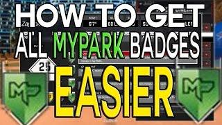 HOW TO GET ALL MyPARK BADGES EASIER NBA 2K17 (ALL PARK BADGES FASTER)
