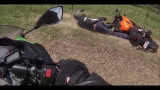 Biker Smash Mirror   Extremely Close Calls, Road Rage, Crashes & Scary Motorcycle Accidents [EP #96]