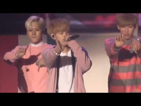 ENG SUB GOT7 2nd Anniversary Fan Meeting - Just Right (changing Part)