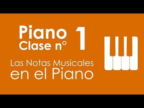 Piano: Clase 1,