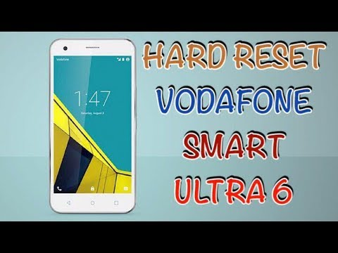 HARD RESET VODAFONE SMART ULTRA 6