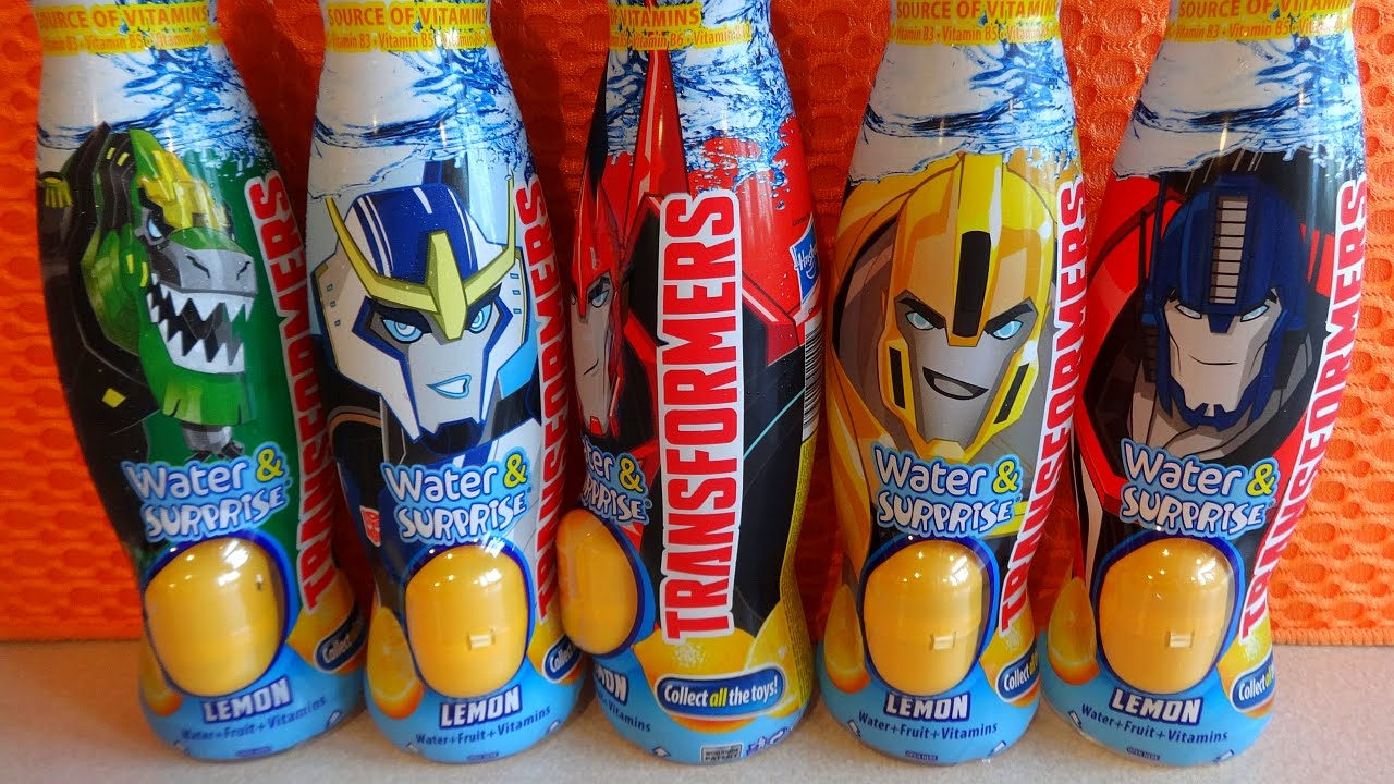 Eggs Building Toys For Boys : Transformers surprise eggs in drink with d toys for boys