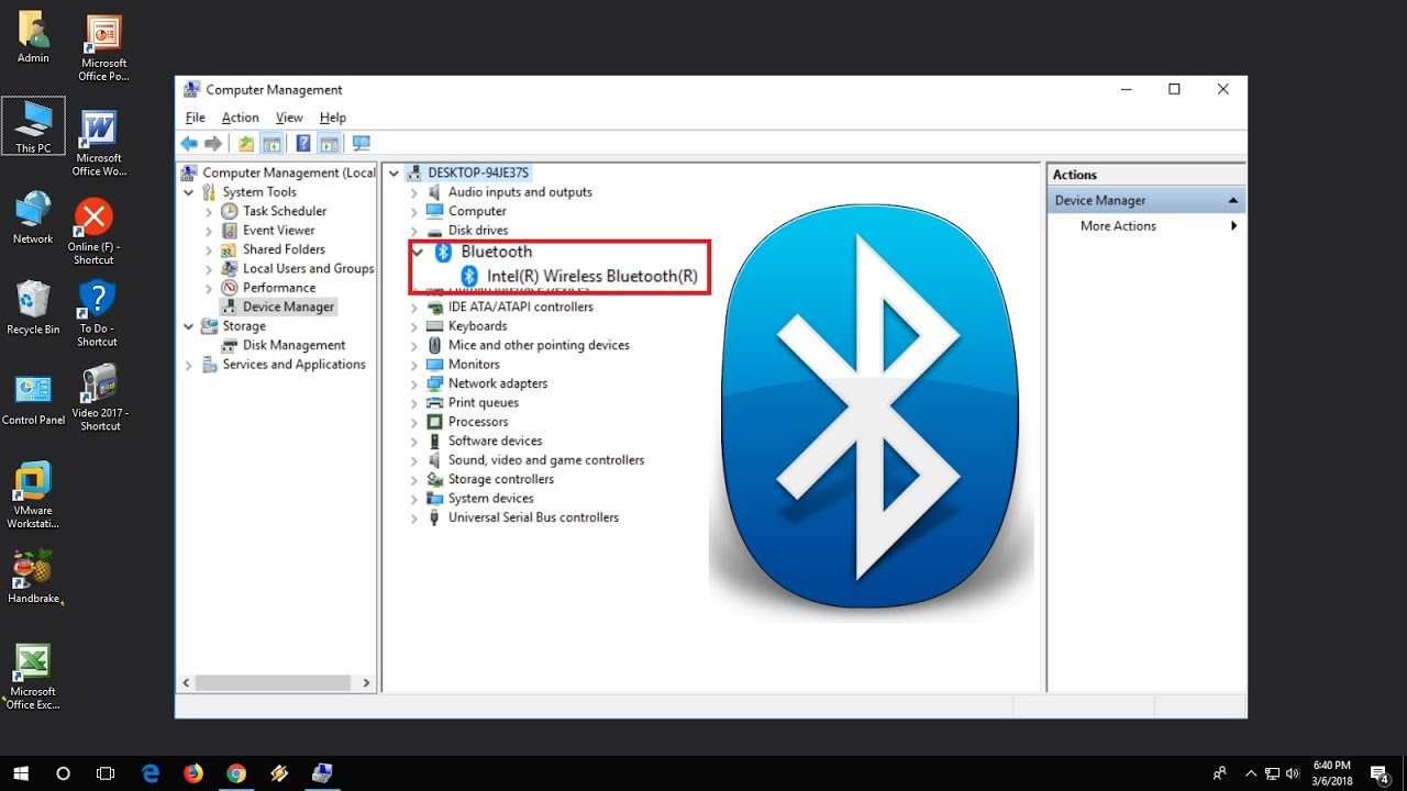 Fix Bluetooth Not Showing In Device Manager Icon Missing In Windows 1087