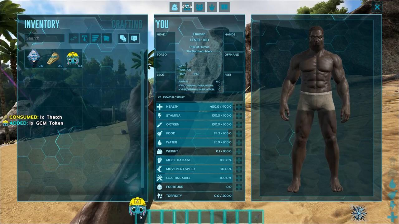GCM   Creative Mode Mod For ARK.