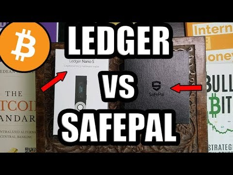 Best Cold Storage Wallet? Ledger Nano VS SafePal! Unboxing Video! SafePal Review