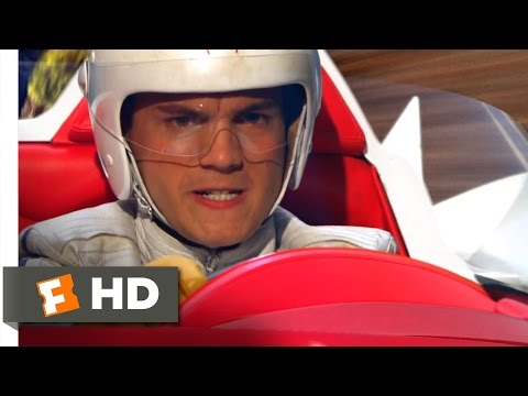 Speed Racer (2008) - Mountain Pass Aggression Scene (6/7) | Movieclips
