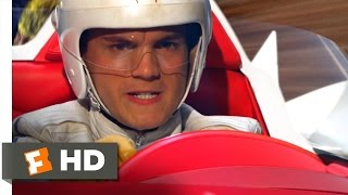 Speed Racer (2008) - Mountain Pass Aggression Scene (6/7)   Movieclips