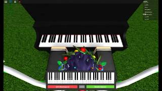ROBLOX Piano video | Complicated by Avril lavigne + Sheets