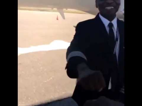 Leaving Africa on a Private Jet