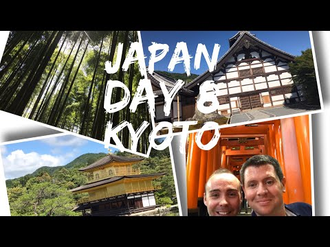 Japan Vlog - May 2017 - Day 8 - Exploring Kyoto, Bamboo Forest and Golden Temple