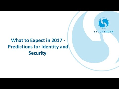 What to Expect in 2017 - Identity and Security