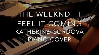 Baixar The Weeknd ft. Daft Punk - I Feel It Coming (HQ piano cover)